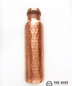 The Hive's Hammered Copper Bottle