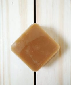 Beeswax bar to make your own beeswax wrap at home.