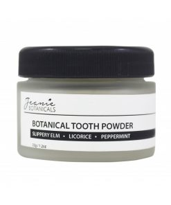 contains all-natural herbs with gentle abrasive and cleansing properties