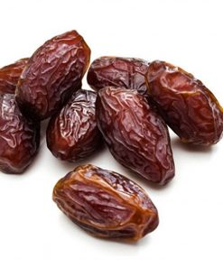 California Jumbo Medjool Dates are rich in fiber, minerals and vitamins. Promotes a healthy weight gain.