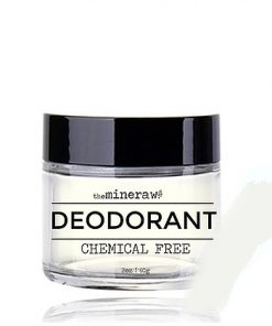 An organic deodorant blend that controls odor and minimizes moisture all day long - without the use of harsh chemicals! Safe for men and women, and all skin types.