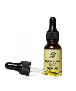 Serasi rejuvenating face serum. The rejuvenating face serum contains precious benefits that provides absorbed hydration boost, soften and regenerate skin cells.