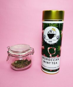 Organic, caffeine free moroccan mint tea by Tea bird tea.