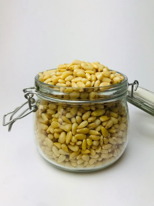 Pine nuts are crunchy yet textured nuts and they carry a subtle sweet flavour and is incredibly delicious too. Pine nuts are also loaded with calories, vitamins, minerals, healthy fats and antioxidants.