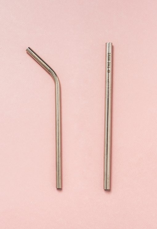 Reusable straws for your juice, tea, water, smoothies and anything else really! 100% stainless steel, rust proof and safe for anyone to use.