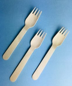 Wooden Fork. Best for your birthday, wedding parties.