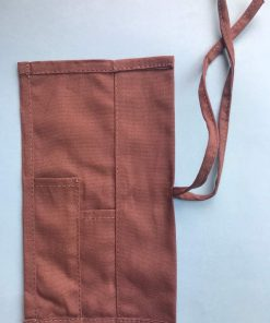 Cotton bamboo cuttlery pouch