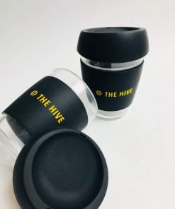 Glass cup tumbler by the Hive. For your tea and coffee. Shop online at the Hive Bulk foods, largest zero waste shop in Malaysia and Singapore.