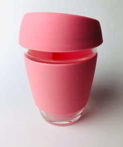 Stylish glass cup tumbler for your everyday tea and coffee. Take these cups reusable glass cup tumbler to get your favorite coffee next time. Shop online at the Hive Bulk foods, largest zero waste shop in Malaysia and Singapore.