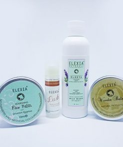 Elexia naturals travel kit/umrah haj kit. 100% natural and free from alcohol, fragrances and colours.
