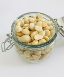 Macadamia Nuts contain the essential vitamins, minerals along with protein and other nutrients. Easy to add in your diet, eat them as it is or roast it.