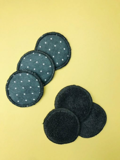 Locally made reusable makeup remover pads by Pakistani Refugee Women. Shop online at the Hive Bulk foods, largest zero waste shop in Malaysia and Singapore.