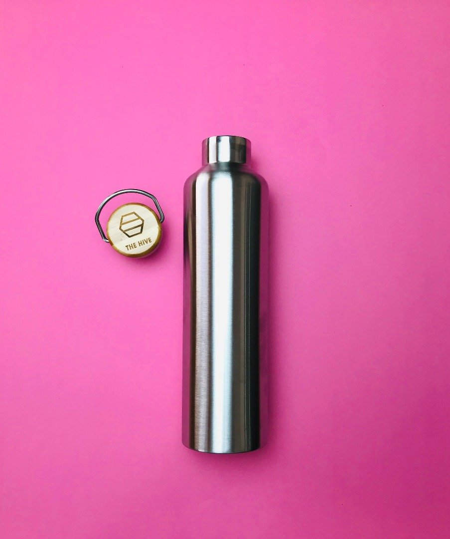 Stainless Steel Bottle 1l The Hive
