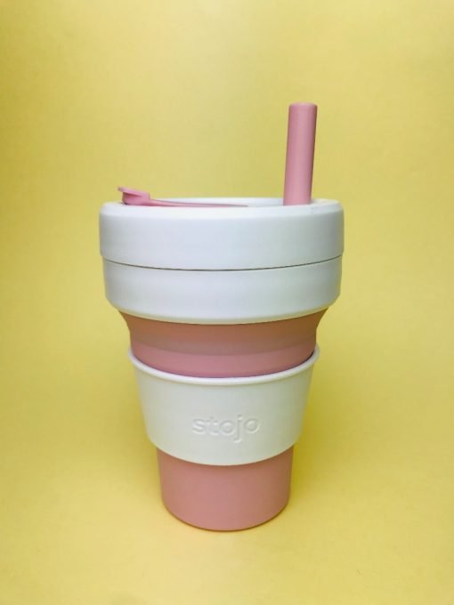 silicone straw stojo cup collapsible. Shop online at the Hive Bulk foods, largest zero waste shop in Malaysia and Singapore.