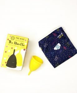 Available in two colours and sizes, The Hivette menstrual cup might become your BFF when you are having your period.