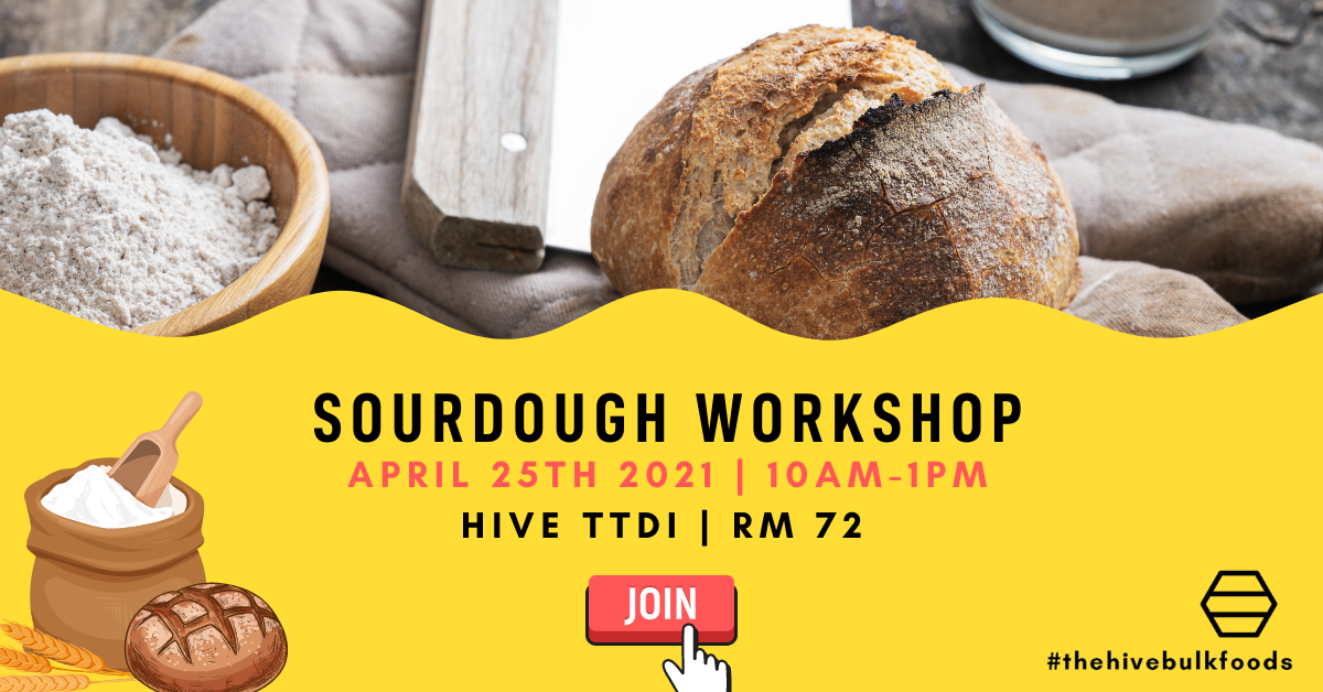 Sourdough Bread Basics Workshop| 25th April 2021