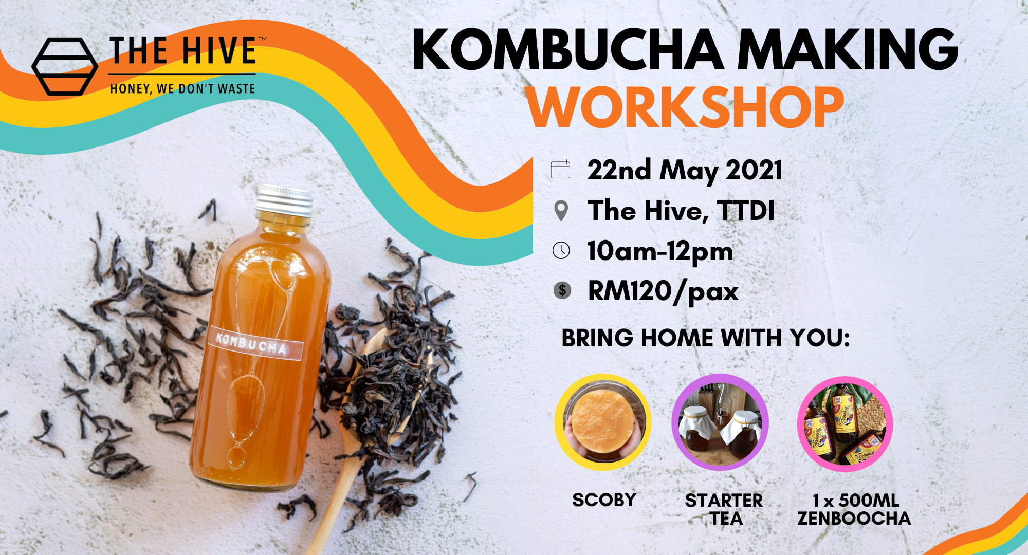 Kombucha Making Workshop | 22nd May 2021
